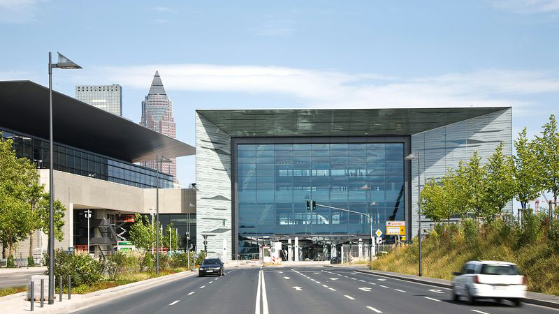 Messe Frankfurt entrance west