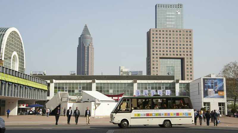 Shuttle Service during the Heimtextil