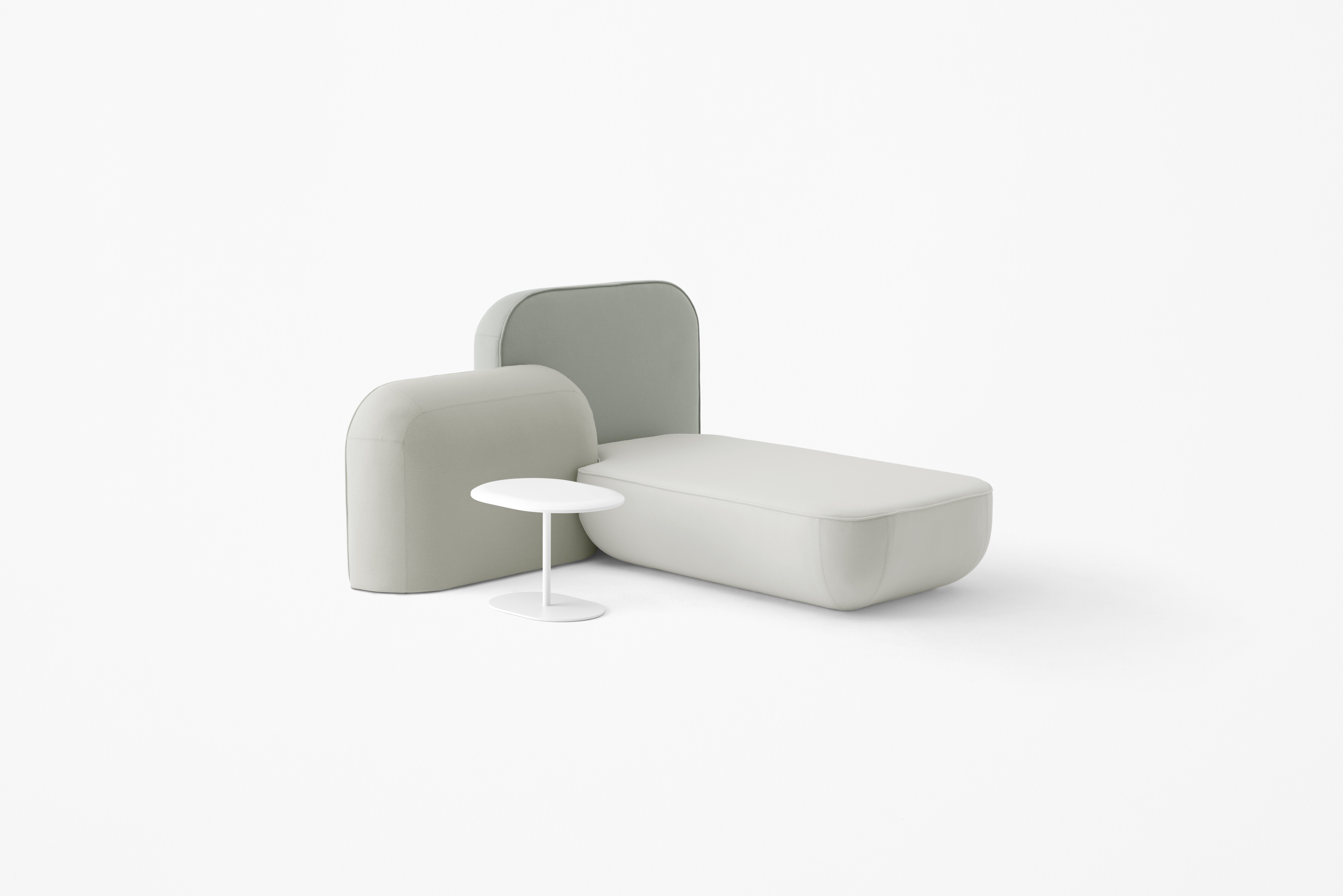 Okome Sofa by Nendo for Alias