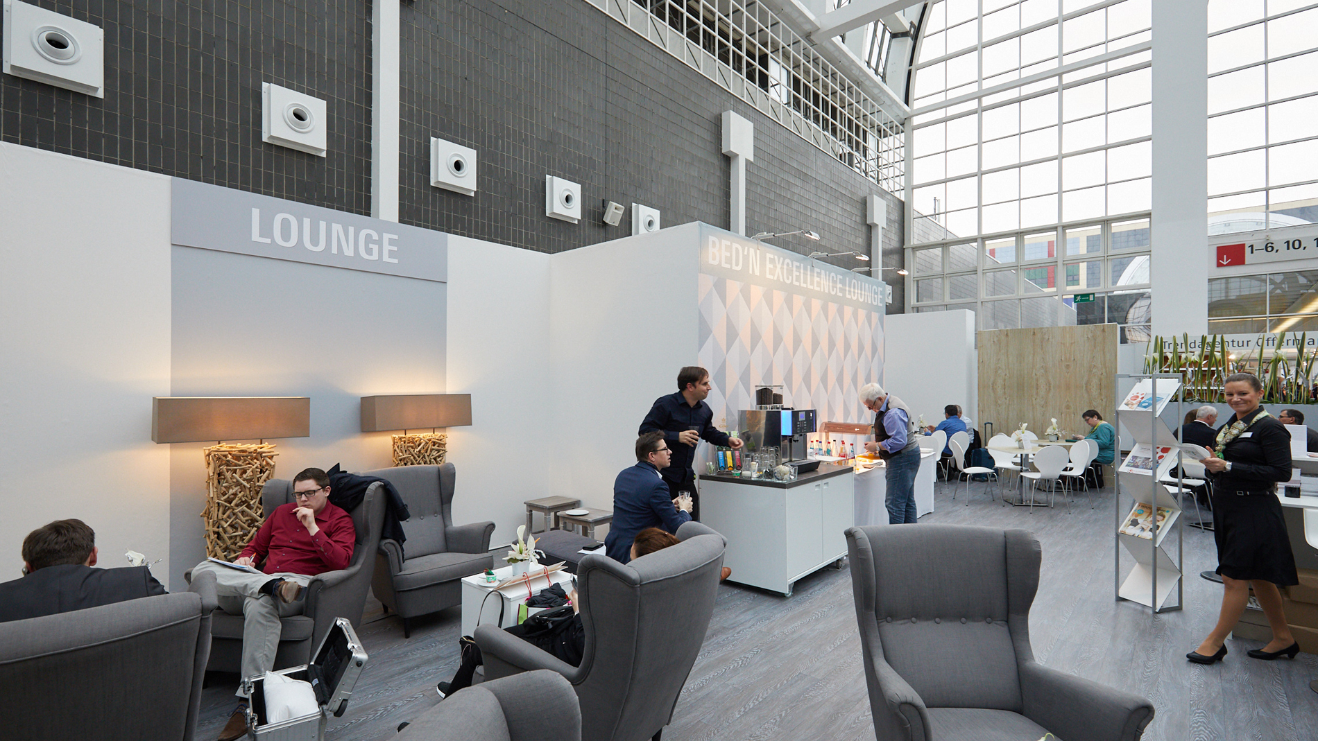 Heimtextil Bed'n Excellence Lounge