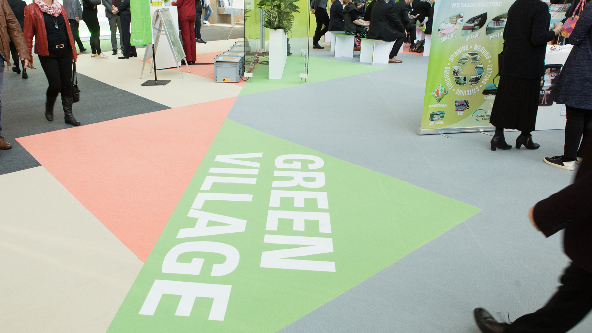 Green Village area during the last Heimtextil