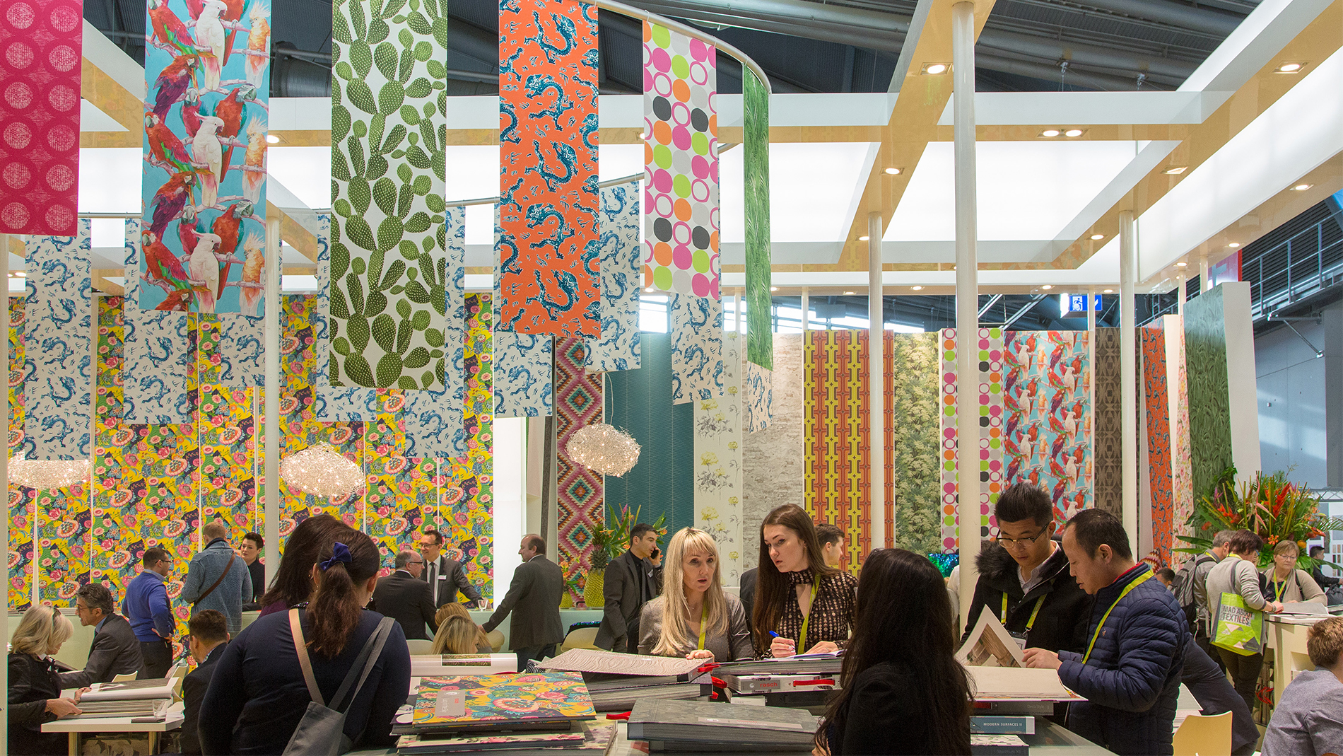 Product segment Wall Decoration at Heimtextil