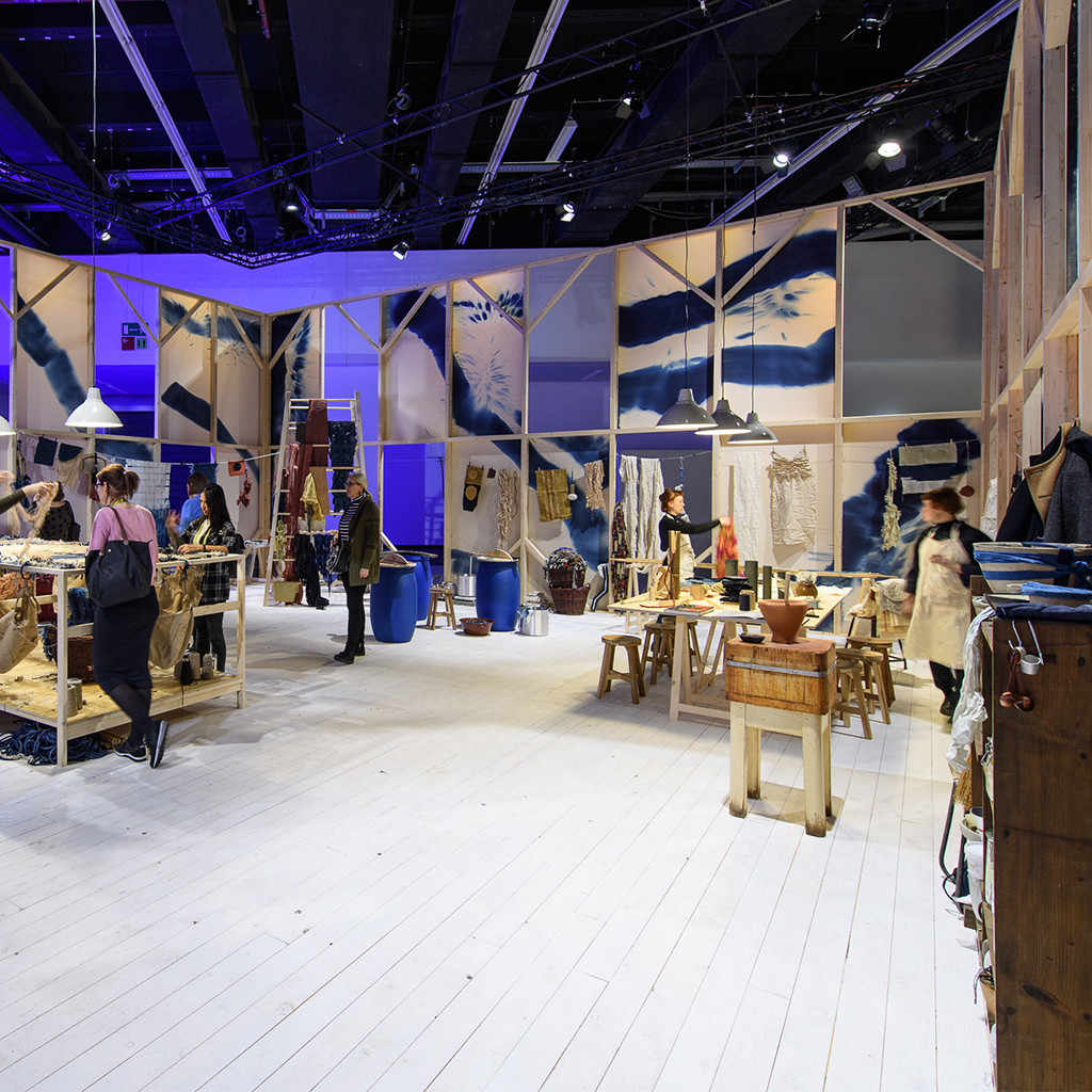 Heimtextil trends in the thema park area