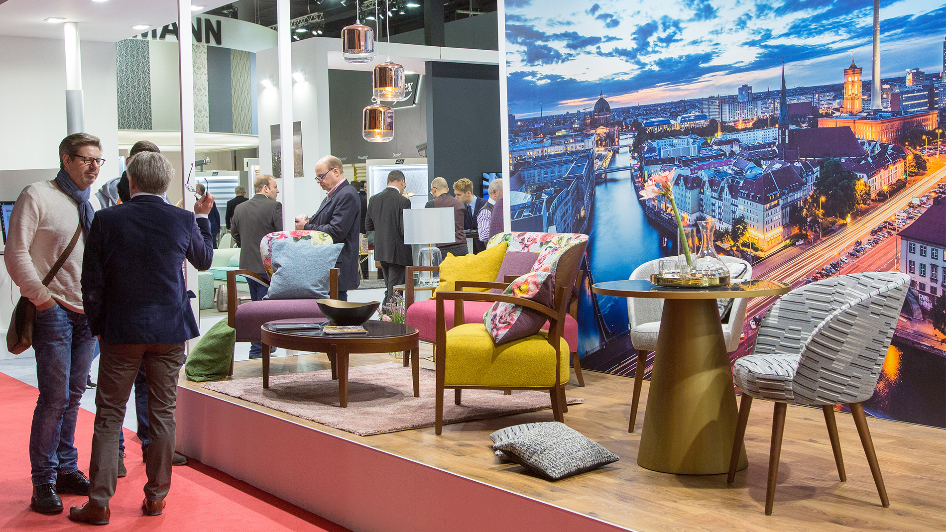 Product segment Decorative & Furniture Fabrics at Heimtextil