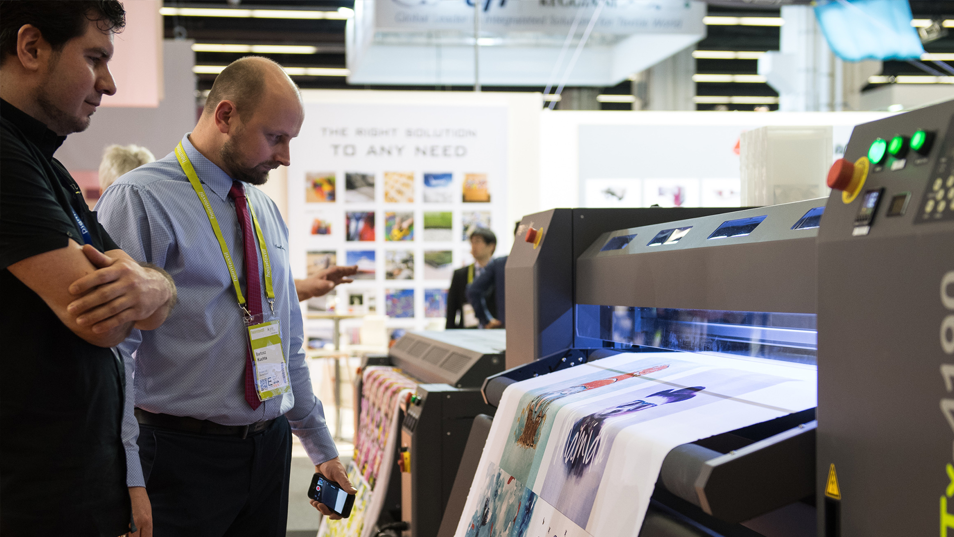 Heimtextil Trends, Textile Design, Digital Print Technology area at Heimtextil