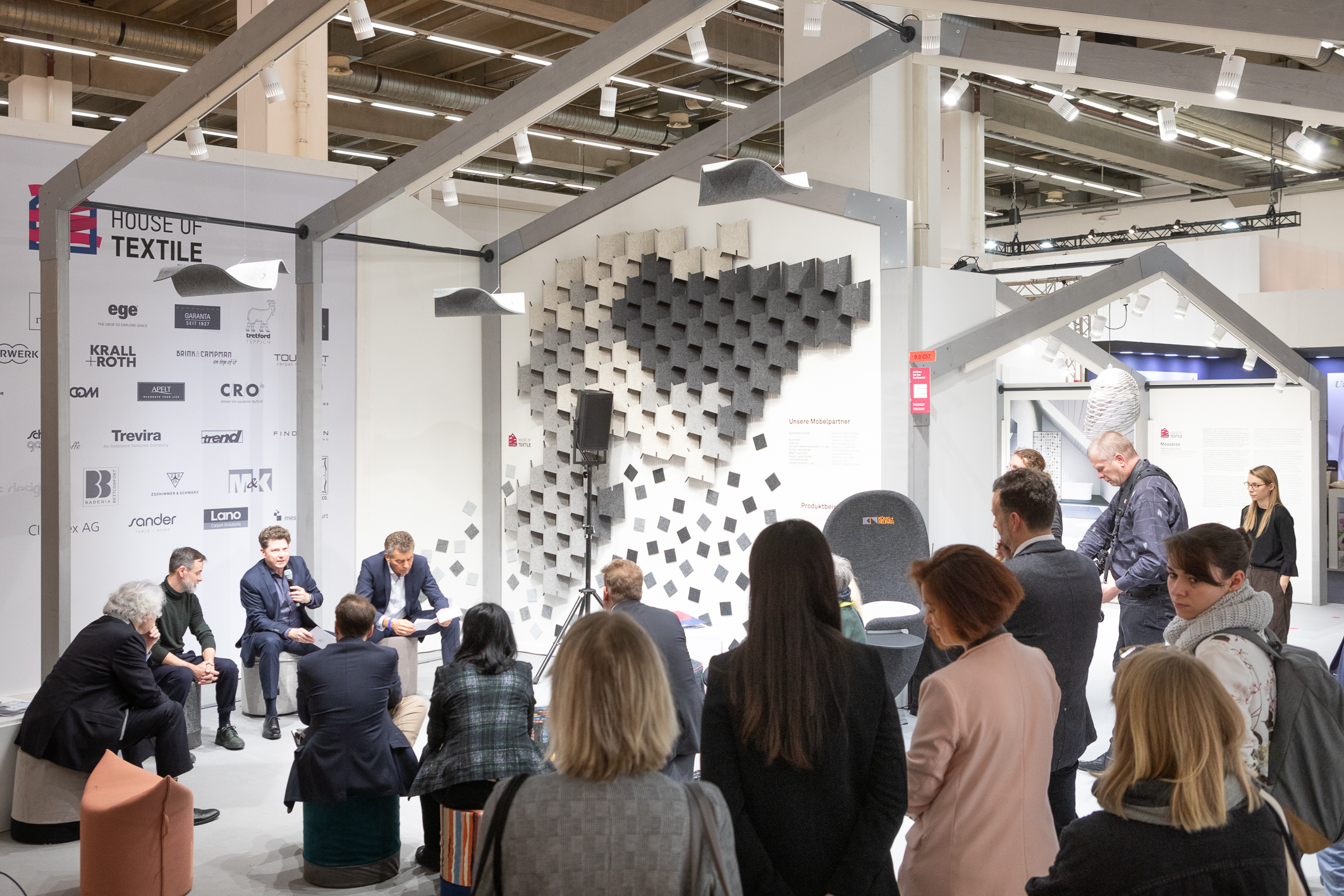 Press conference House of Textile / Carpet by Heimtex