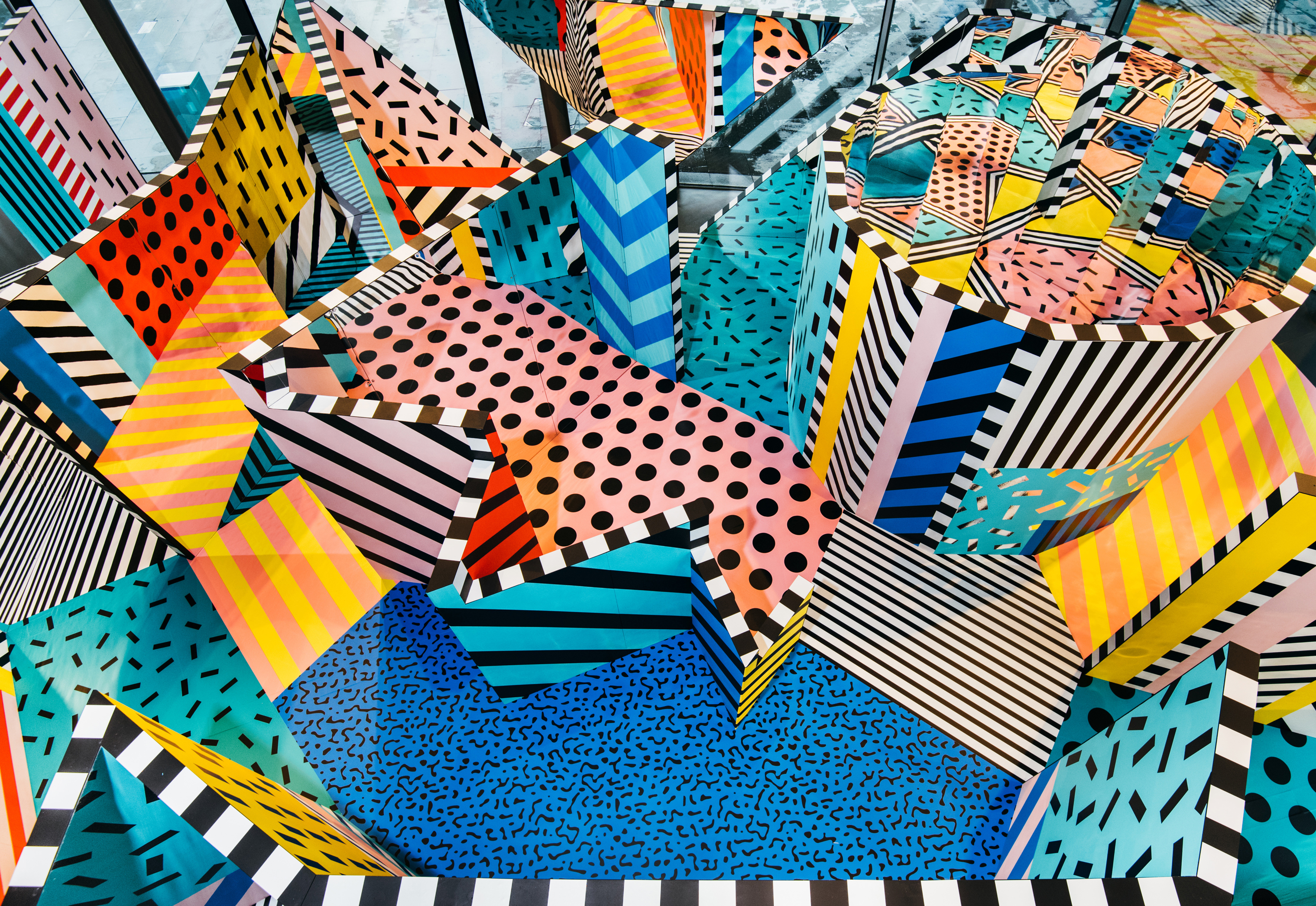 PURSUE PLAY - WALALA X PLAY BY CAMILLE WALALA FOR NOW GALLERY, PHOTOGRAPHY BY CHARLES EMERSON ©Heimtextil trend book
