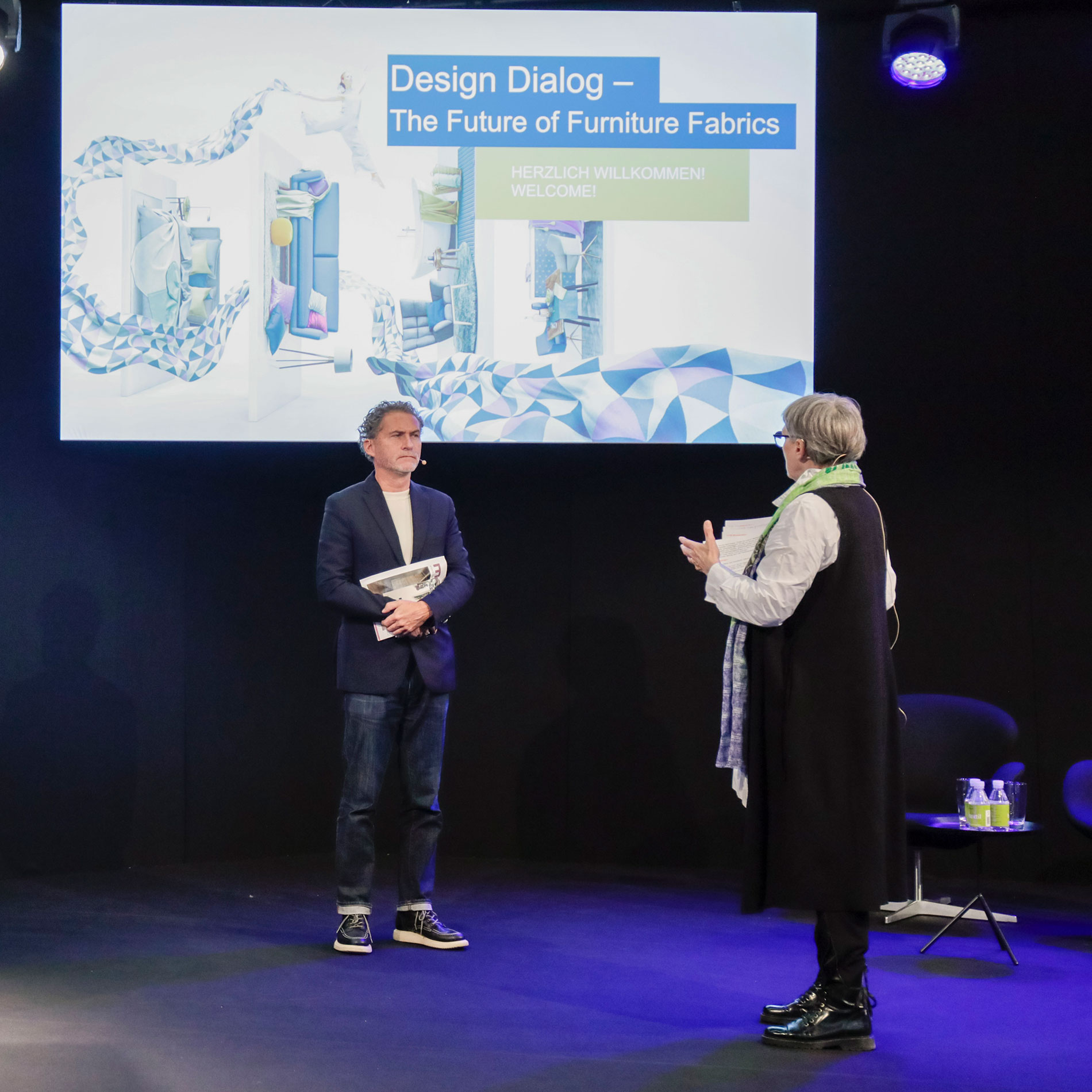 Design Dialog – The Future of Furniture Fabrics during the last Heimtextil