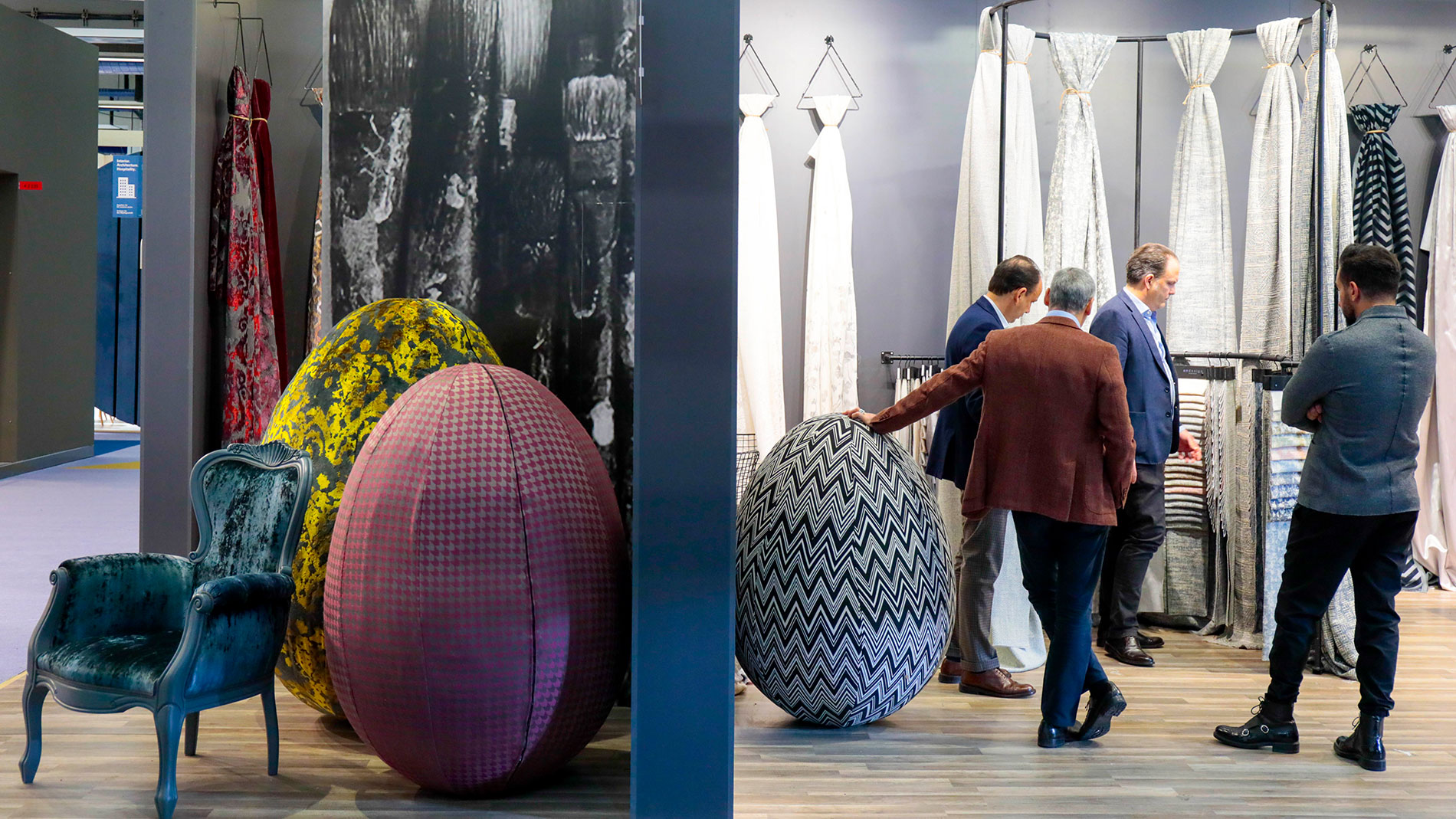 Visitors of Heimtextil