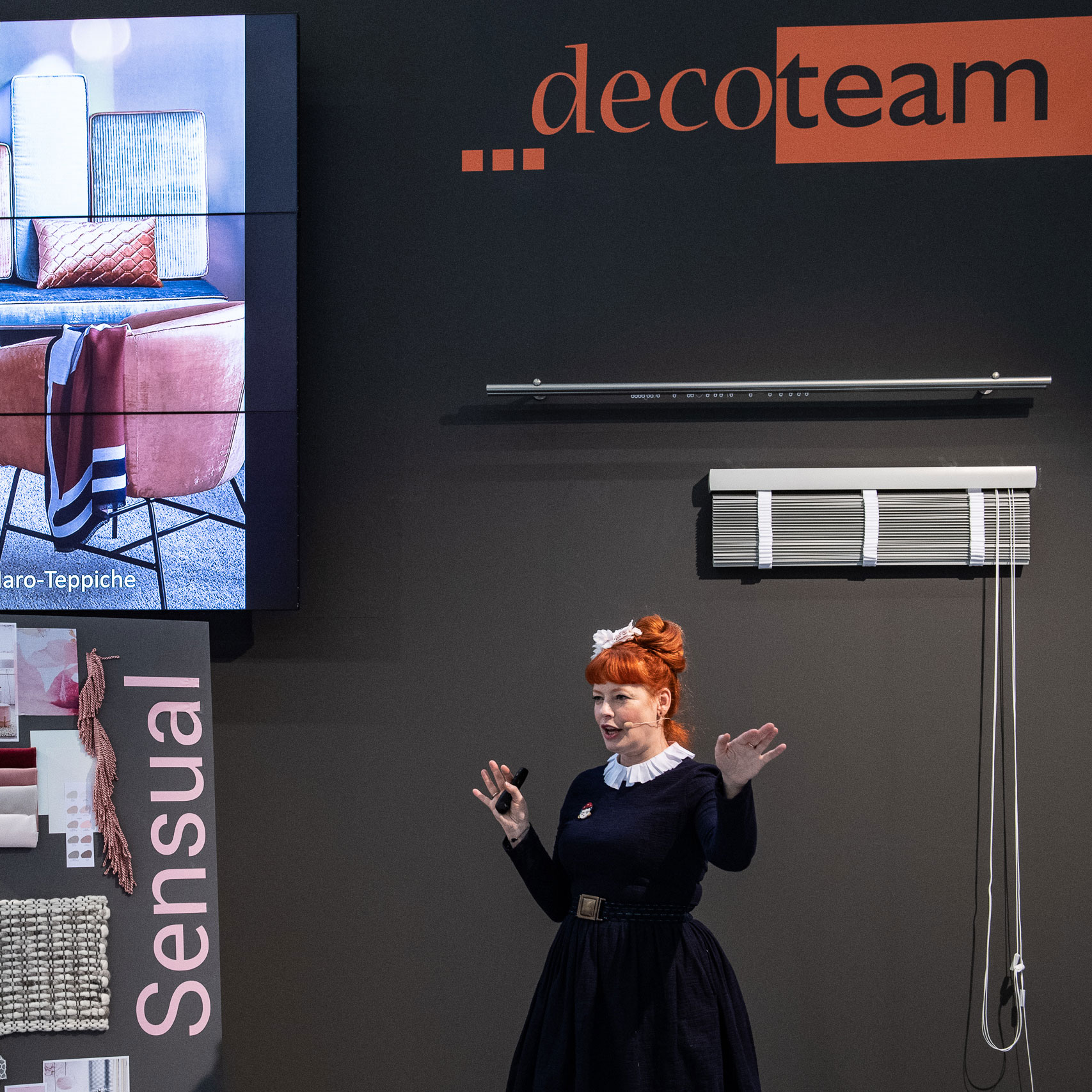 DecoTeam presentation during the Heimtextil