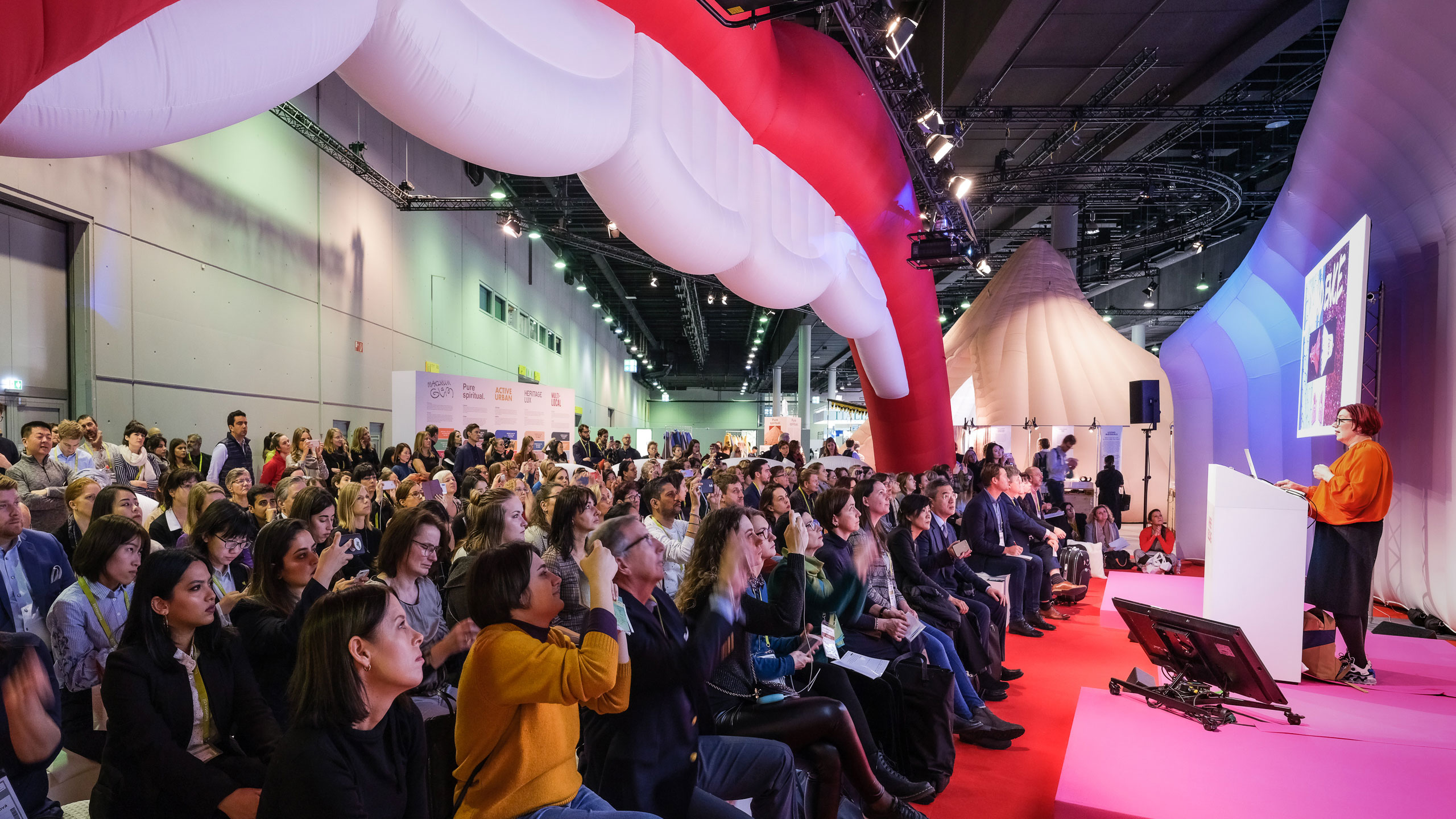 Heimtextil Trends Space Lecture