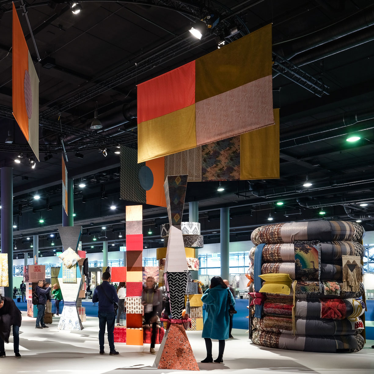 Heimtextil Trends at the Trend space