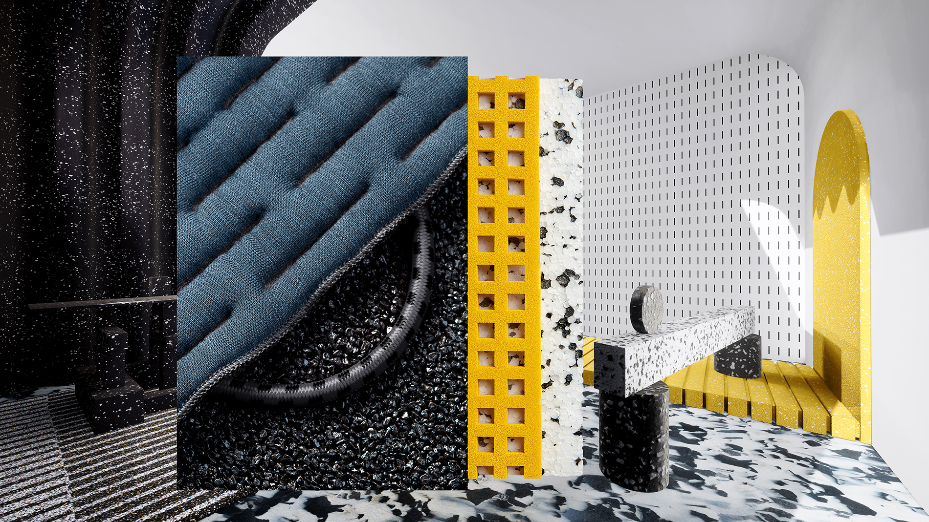 Active Urban textures: image by envisions for Heimtextil 2020