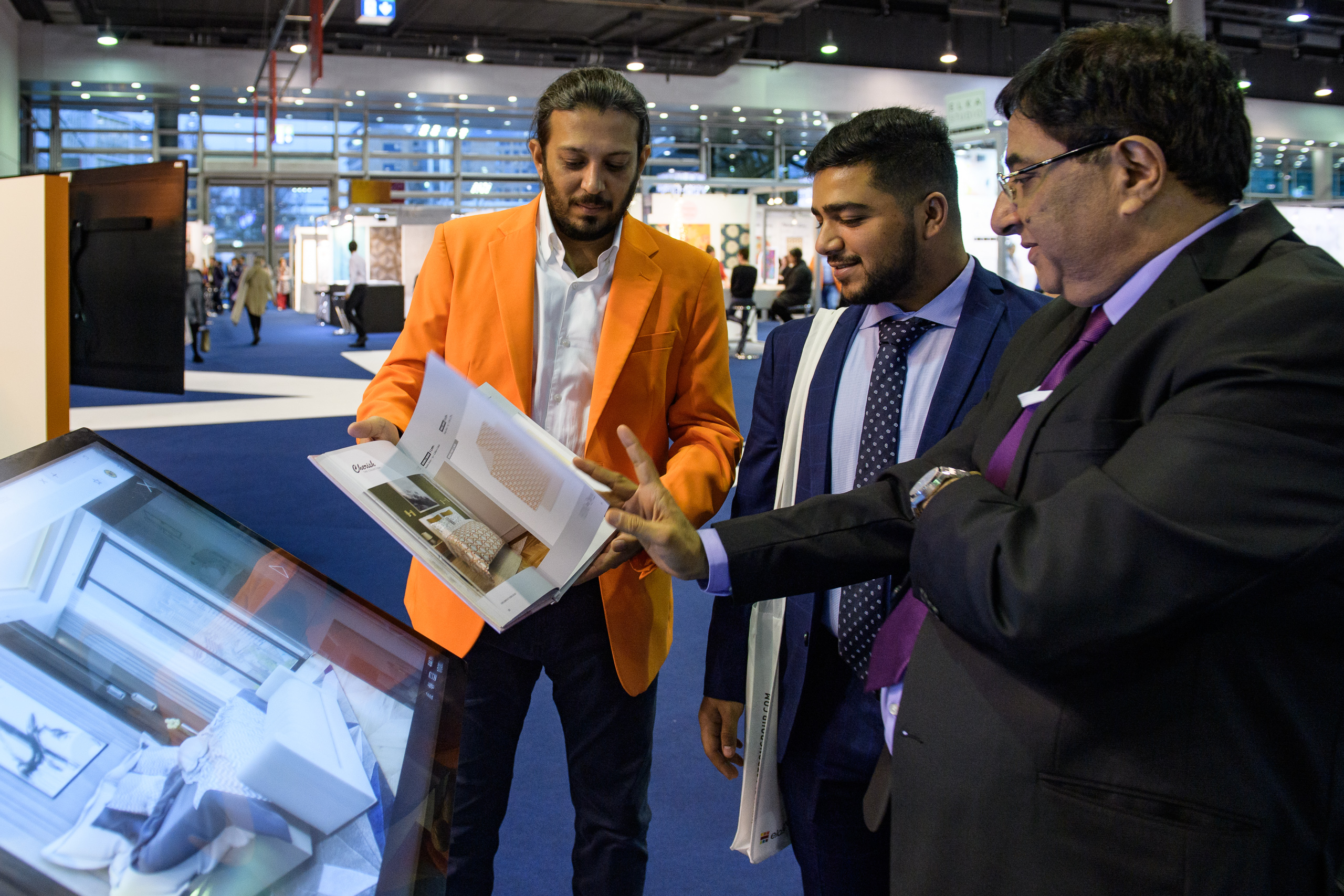 Heimtextil 2020 / fair visitors