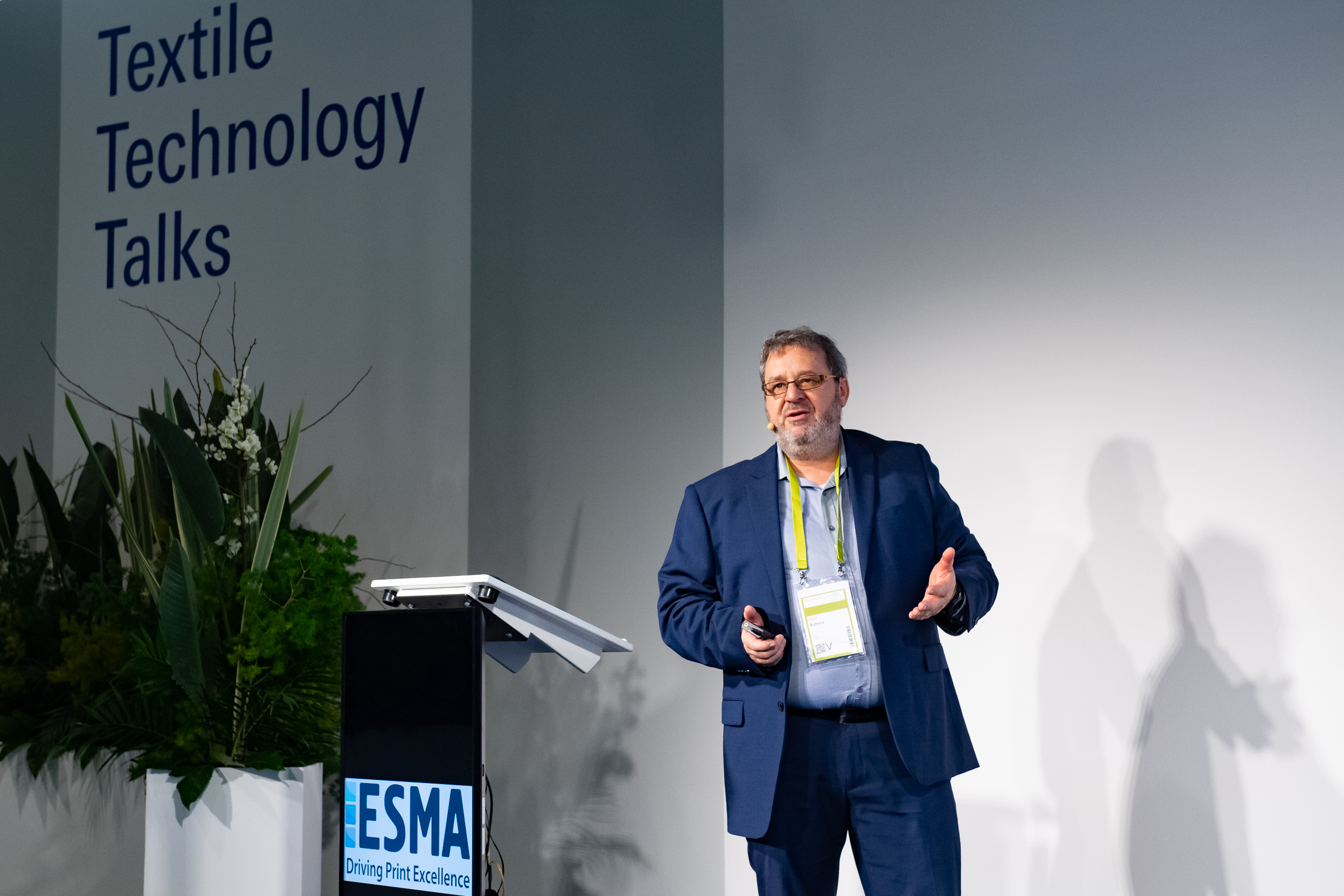 Textile Technology Talks, Peter Buttiens ESMA General Manager