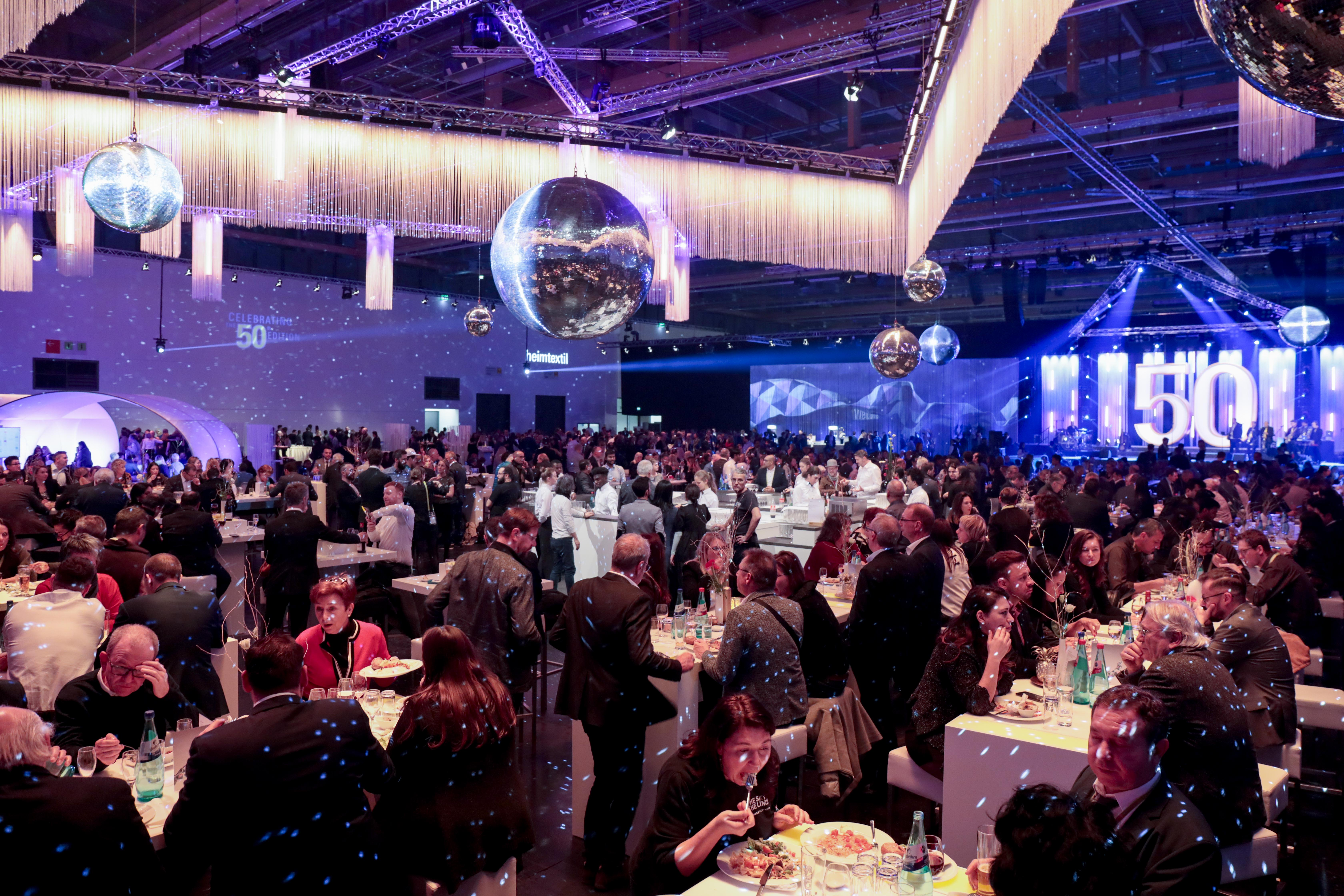 Heimtextil at Night / celebrating 50 years