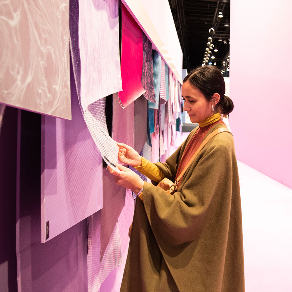 Heimtextil Trends at the Trend Space Area
